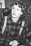 Helen Hamlin (circa 1945).