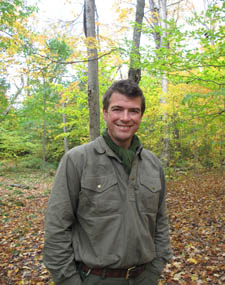 Paul Kirtley (Photo courtesy of       www.FrontierBushcraft.com)