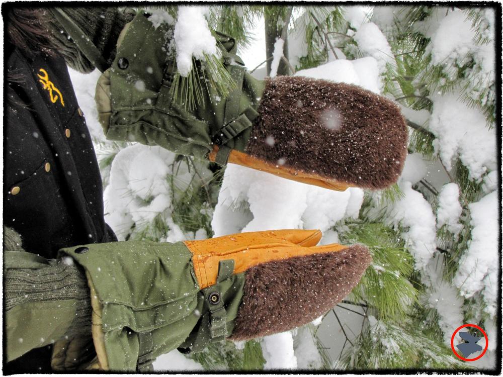 N-4B Bear Paw mittens.