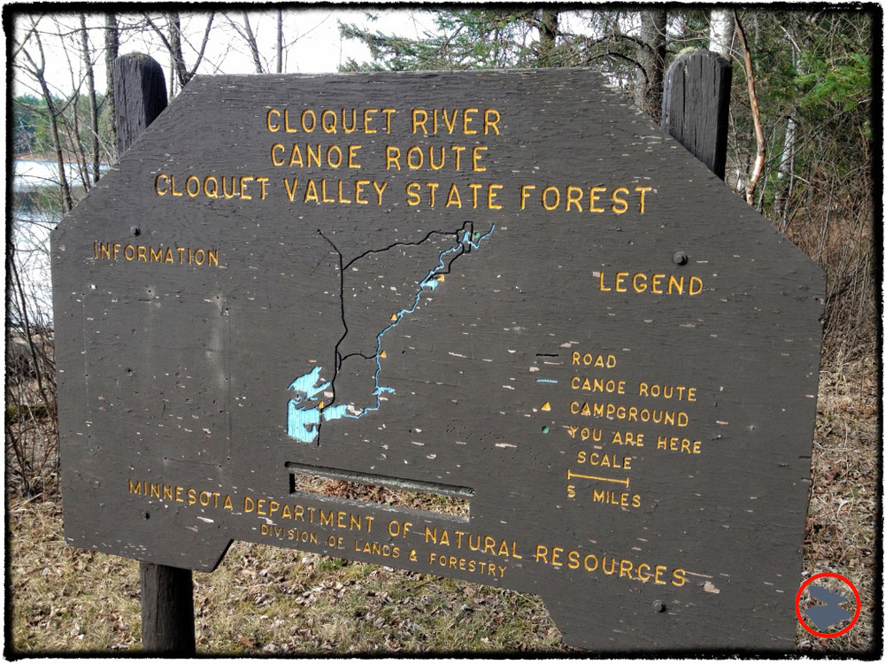 The Minnesota DNR does a great job with their designated water trails, and the Cloquet River was no exception.
