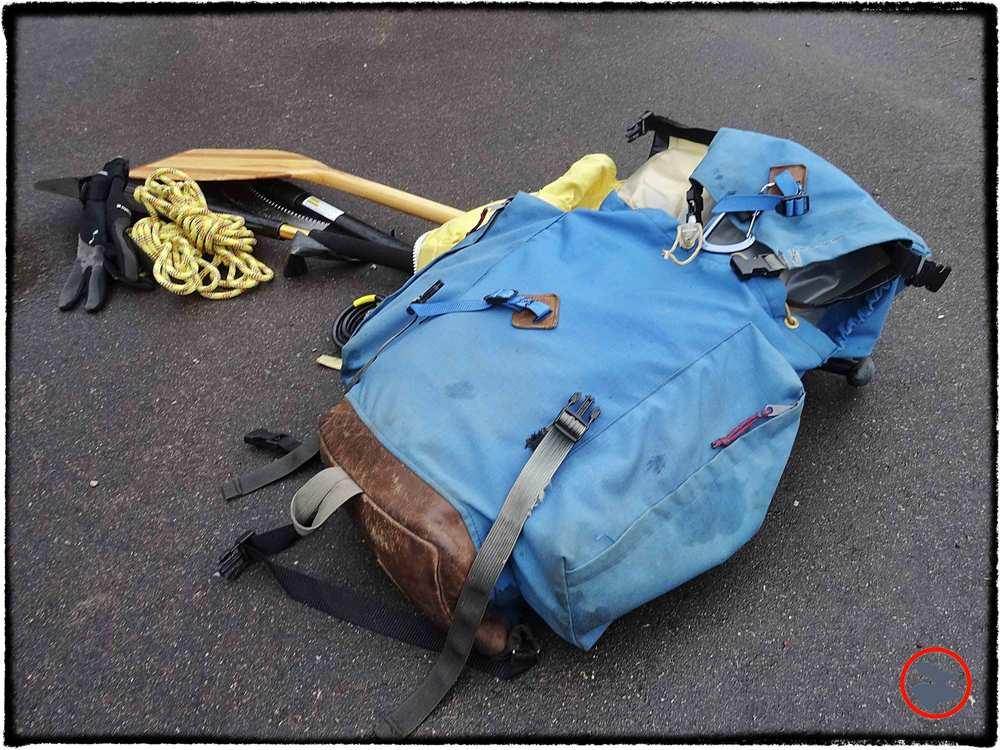 Tom's vintage Sierra Designs rucksack.