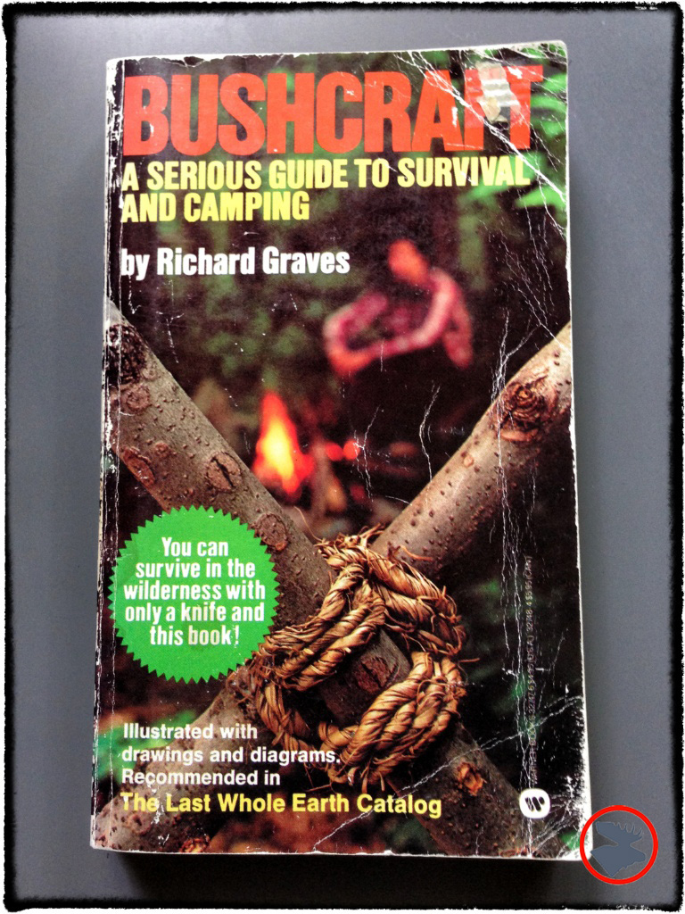 My personal copy of   Bushcraft   that I've had since I was 8-years-old. A fantastic book by Graves, who was a Commanding Officer with the Australian Jungle Survival & Rescue Detachment.