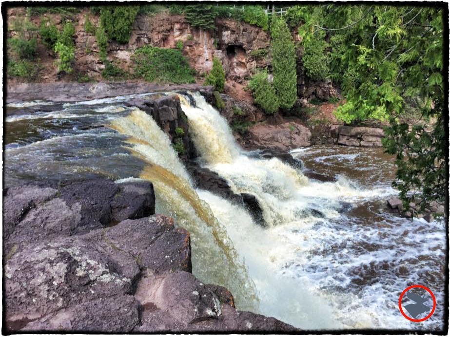 Gooseberry Falls in Gooseberry Falls State Park, MN.