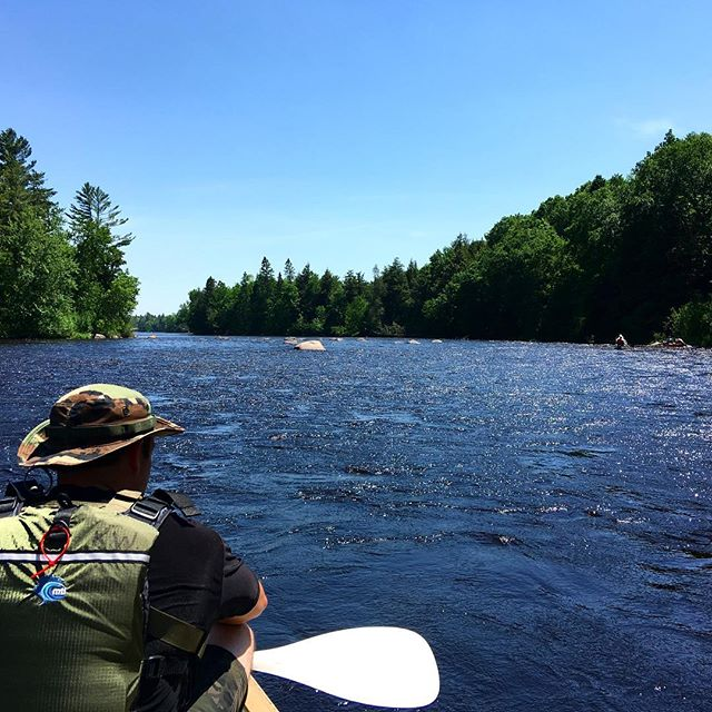 Already dreaming of the weekend? If you're in MN or WI, plan to get on the Flambeau! Sky blue water, rapids for all levels, and easy camp options.