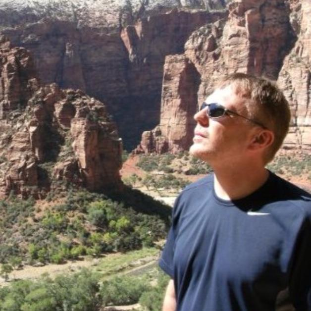 Brian in Zion National Park, Utah