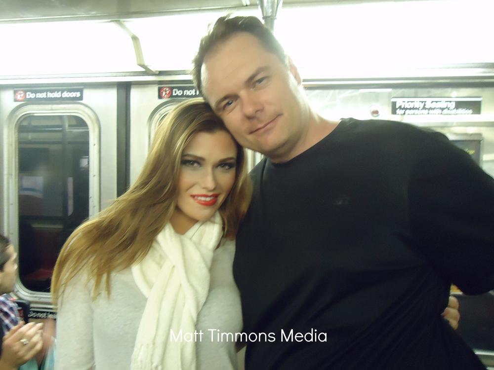 Samantha Hoopes and Matt Timmons