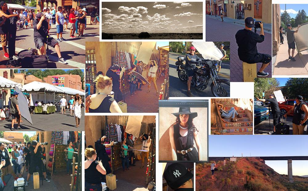 'Soujourner' shoot for FSHN Magazine, Santa Fe, New Mexico.  Model: Marissa, LA Models  Makeup: Miranda Qualls.