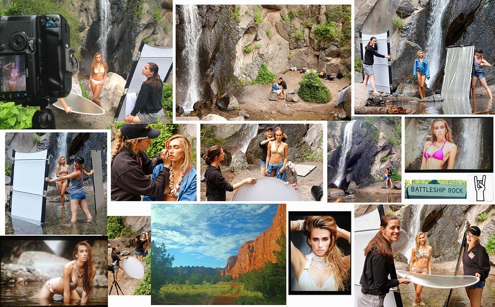 'Summer's Last Song' shoot, Jemez Mountains New Mexico. Model: Dale, MTM Model Management, Makeup: Kylie Nicole, Assistant: Jess Bartow