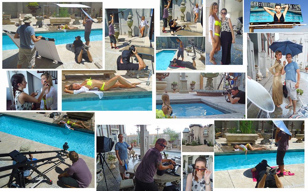 Jewelry campaign shoot.  Model: Jami, MTM Model Management, Makeup: Cari Blass, Assistants Kirill and Stuart.