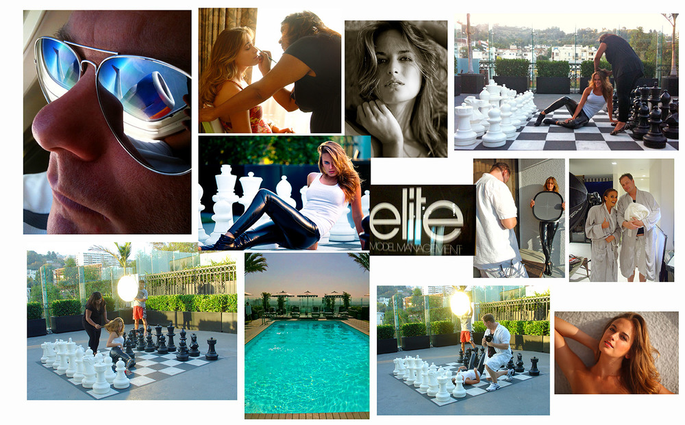 LA Shoot, ELITE Models.  Model: Jenna Simms,  Makeup & Hair by Joyti Nair.
