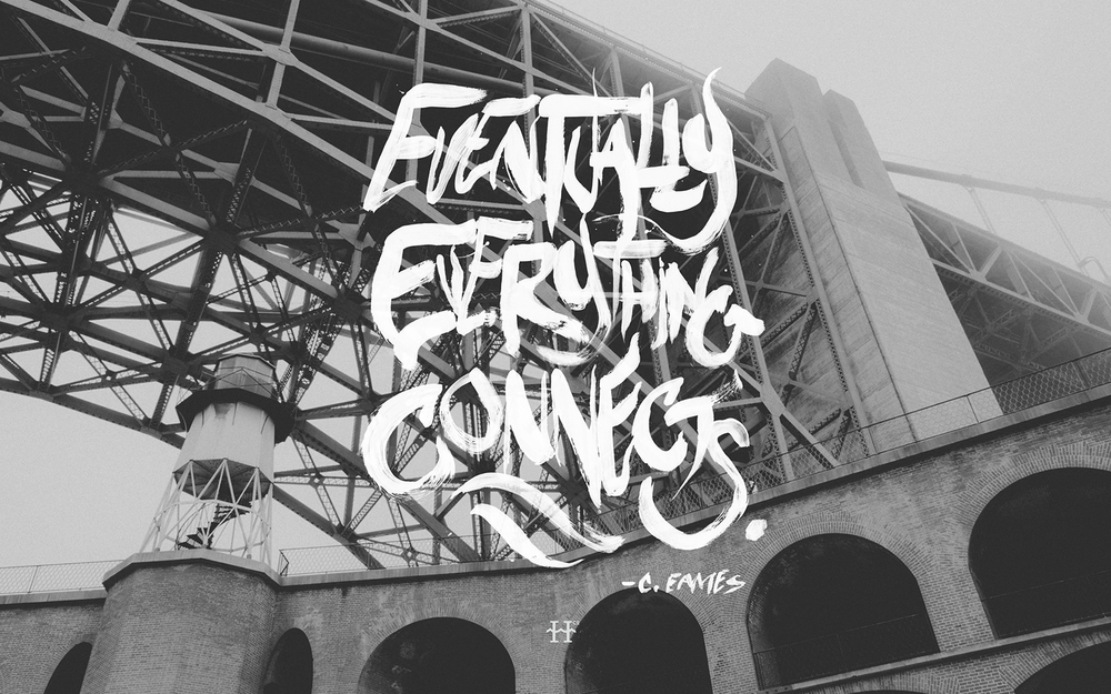 EVENTUALLY - Original Photo; Type by Harbr Co.