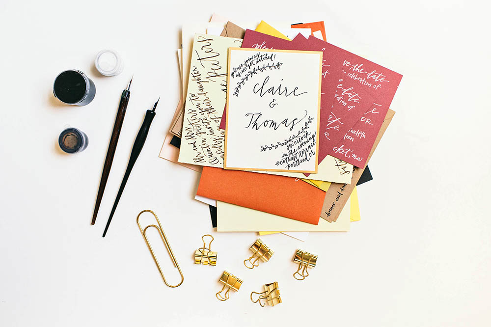 Clay & Ink || Calligraphy Studio