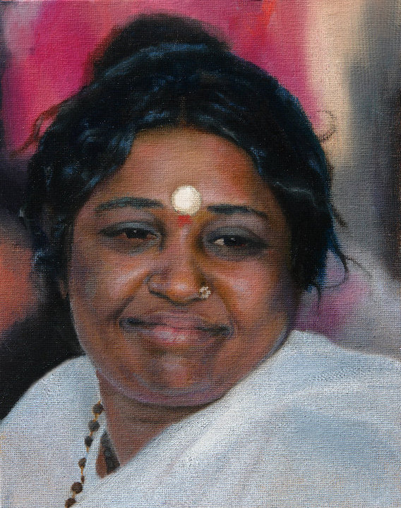 Amma (given to Amma on tour)