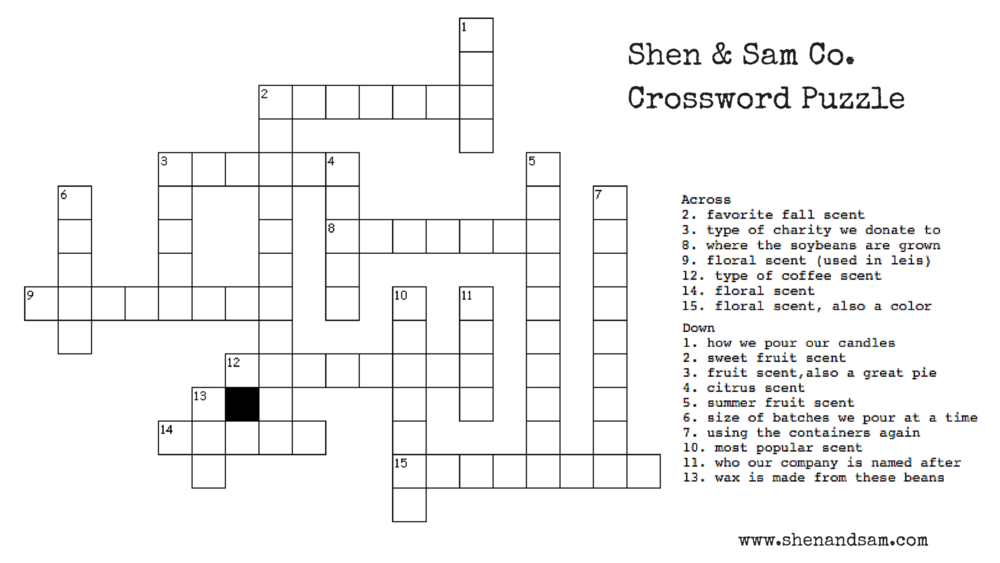 For The Crossword Puzzle You Enter Information Like A Name Width And Height Would Size Of Squares