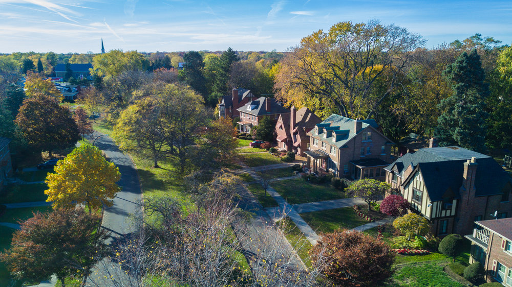 The Grandmont Rosedale neighborhood has no shortage of beautiful homes.