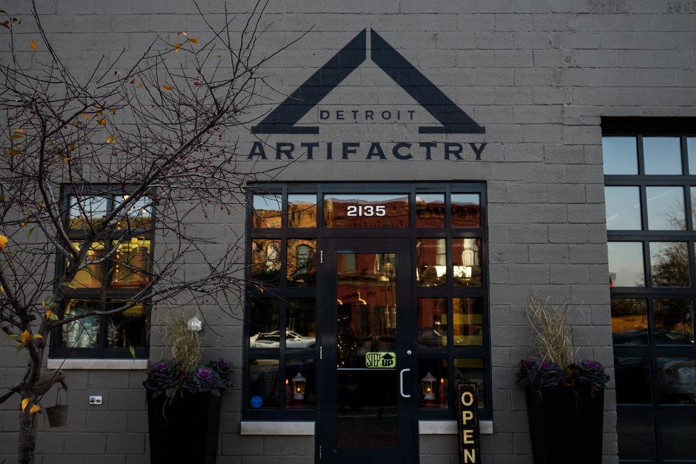 Detroit Artifactry 2135 Michigan Ave, Detroit, MI 48216