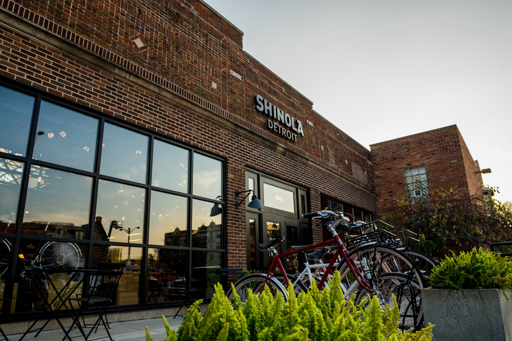 Shinola Detroit  441 W Canfield St, Detroit, MI 48201