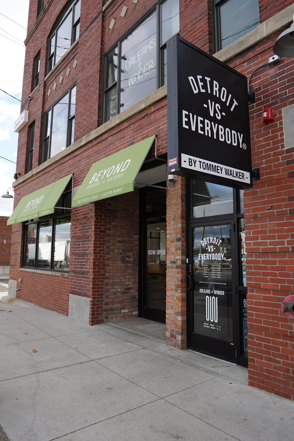 Detroit VS Everybody 400 Monroe Ave #340, Detroit, MI 48226