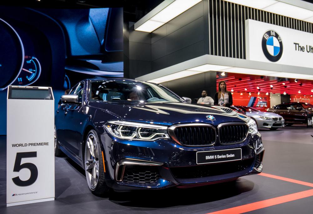 2017 BMW M550i