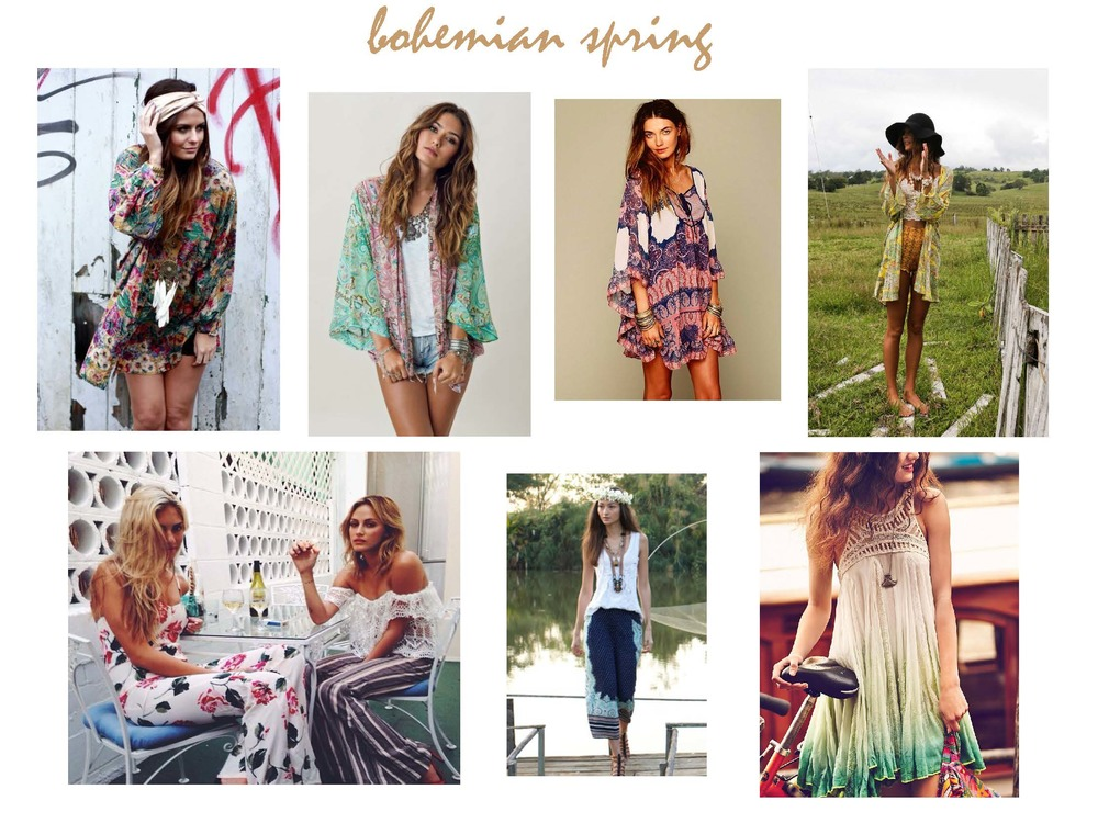 Boho Clothing Online Stores BOHEMIAN SPRING