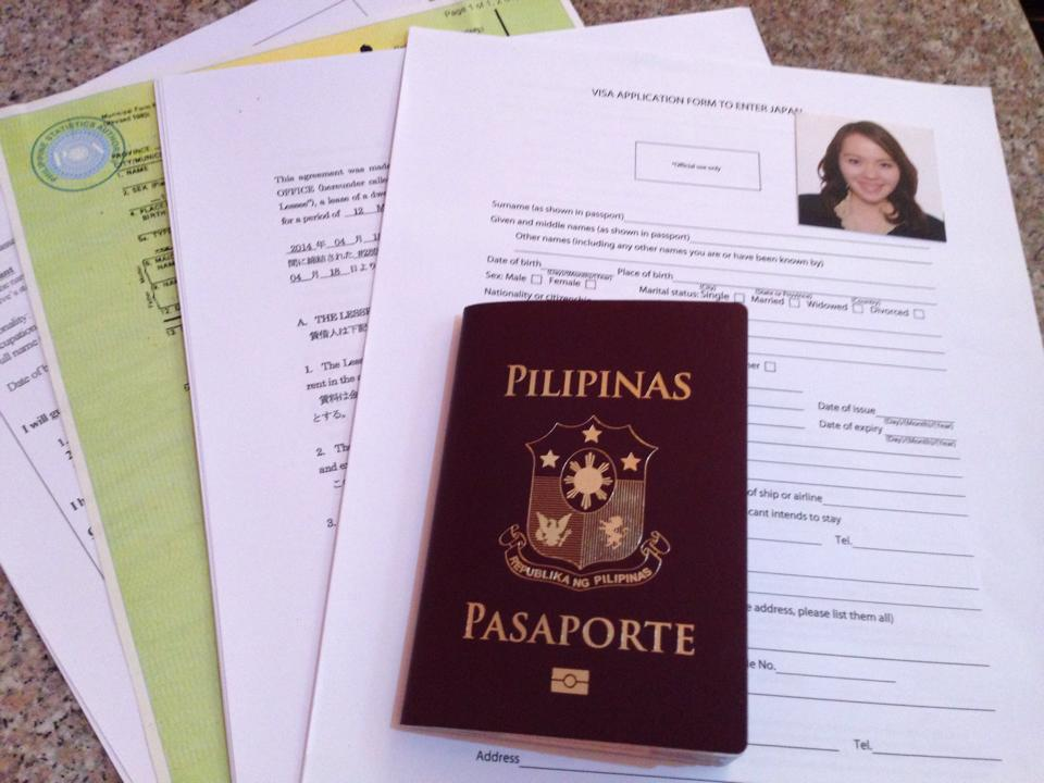 How to apply for a japanese visa with a philippine passport minus the invitation letter spiritdancerdesigns Images