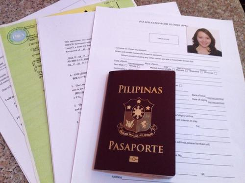 How to apply for a japanese visa with a philippine passport 1 philippine passport stopboris Gallery