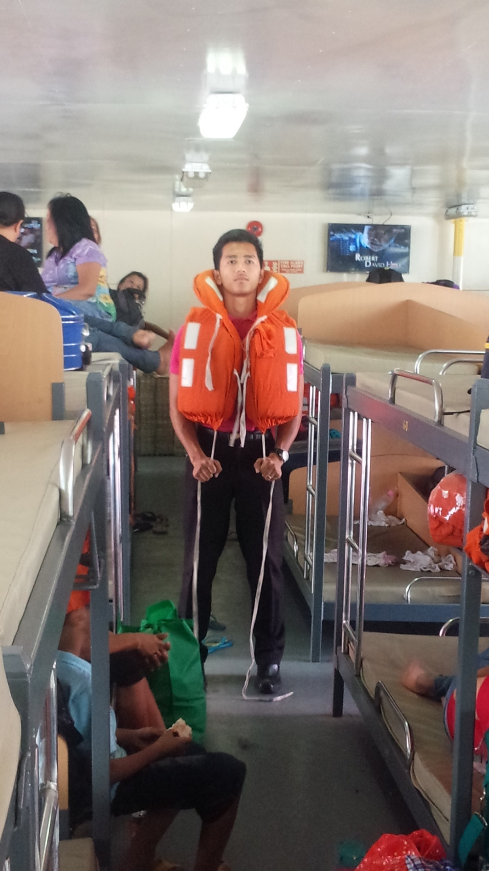 Life vest safety on 2GO travel