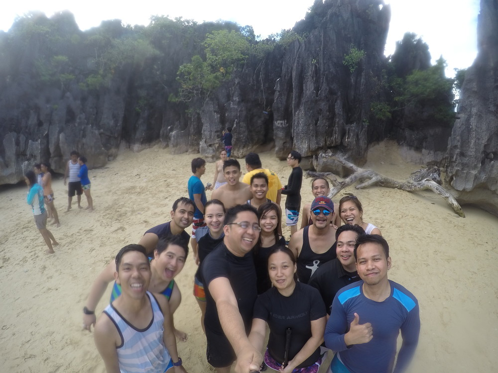 The group formed by DIY Travel Philippines