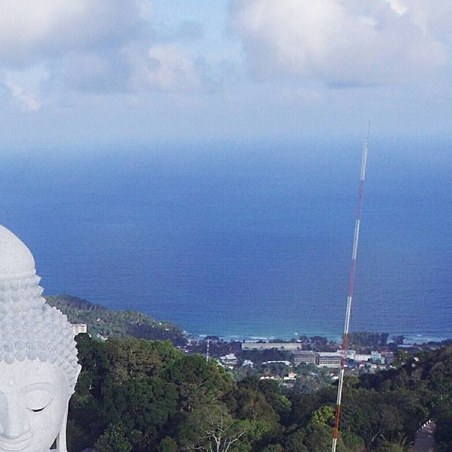 Ongoing construction but it was still worth the long drive! ❤👫👍🐒🤗 Picture of 3/4. Check out our profile for the whole picture! #bigbuddah #kohsamui #thailand #wanderingwaffleheads #wanderlust  #travelblogger #travelcouple #canonph #canon #canonG7x #traveling #traveltheworld #travelstoke #traveldiaries #explore #travelphoto #effortlessdigital #travelph #travelgram #travelpinoy #travel️ #travelasia #asia #philippines #travelgram #traveling #traveladdict #FotografiaUnited #travelphotooftheday #grammerPH #goPH #photooftheday