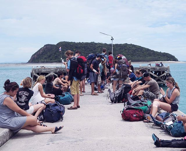 Backpackers waiting for the boat #backpacker #thailand #thai #asia #passportexpress #travelgram #travelawesome #alwaysgo #freedomthinkers #travellife #travelbloggers #ipreview @preview.app