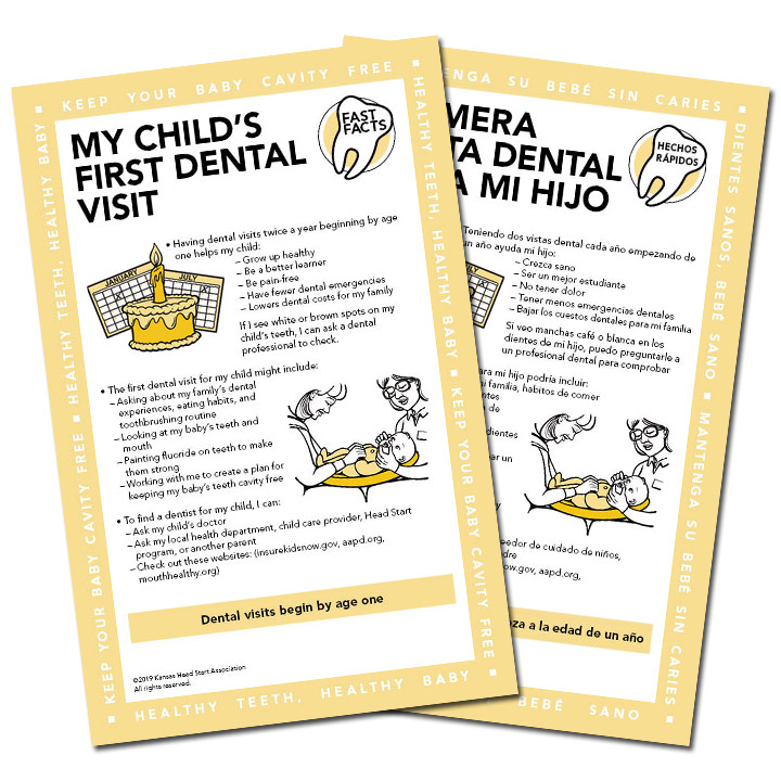 Fast Facts: My Child's First Dental Visit