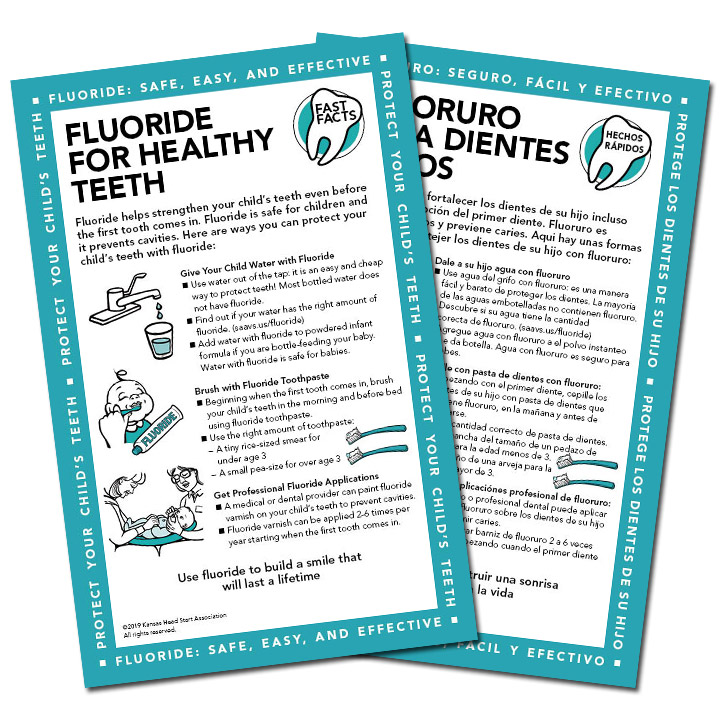Fast Facts: Fluoride for Healthy Teeth — Saavsus, Inc