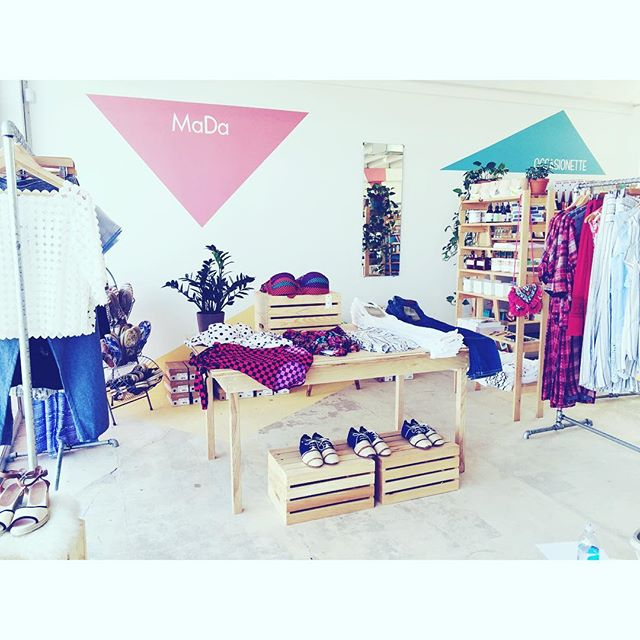 New and improved and open for business! #shopmada is open today @storehouseasburypark ! ☀️ Come see us and our favorite designers on the boardwalk! #shoplocal #asburypark #madabeachbabes #madabeachside #happy #summer #beach