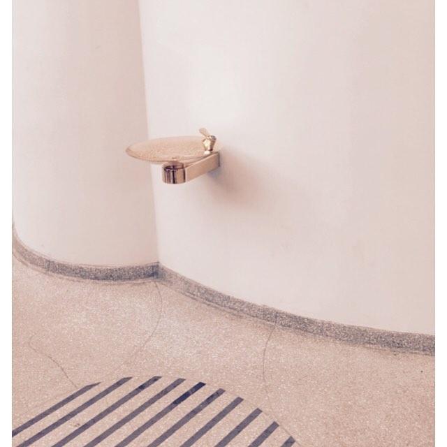 Finding #inspiration in unusual places  #guggenheim #museum #birthdayweekend #sundayfunday