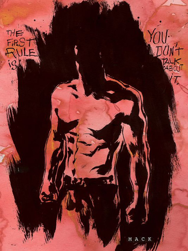 Chuck Palahniuk is writing Fight Club 2 as a 10-part comic series, Dark Horse Comics announced ahead of Comic Con 2014.