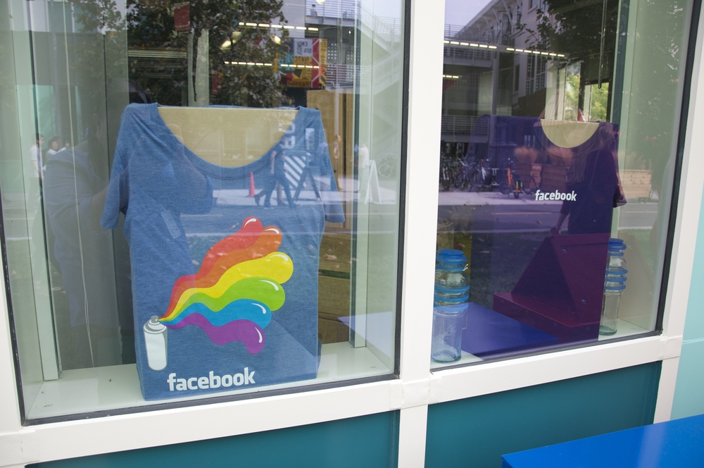And like any good amusement park, Facebook has a perfectly placed gift shop.
