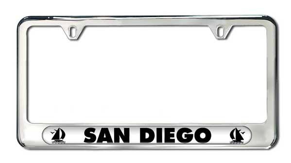 San Diego License Plate Frame | Camisasca Automotive Online Store