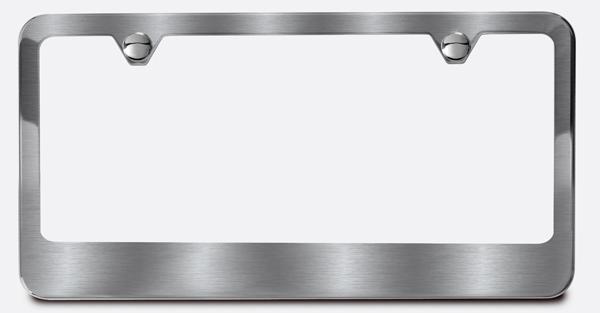 Wide Bottom License Plate Frame   Camisasca Automotive Online Store