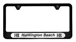 Huntington Beach License Plate Frame | Camisasca Automotive Online Store