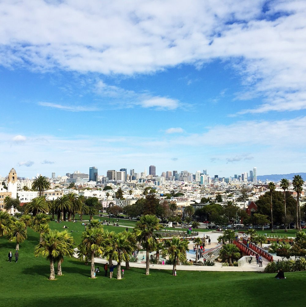 Dolores Park, San Francisco, CA