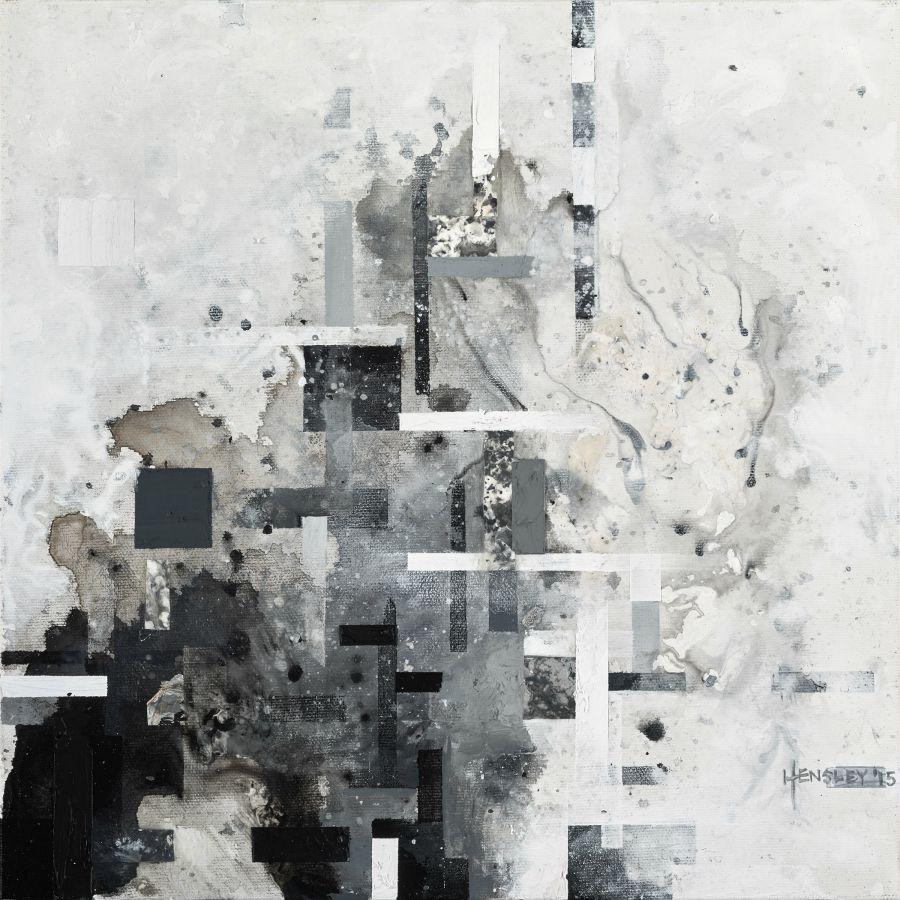 "GlyantiSSB215, acrylic on canvas, 12"" x 12"", 2015"