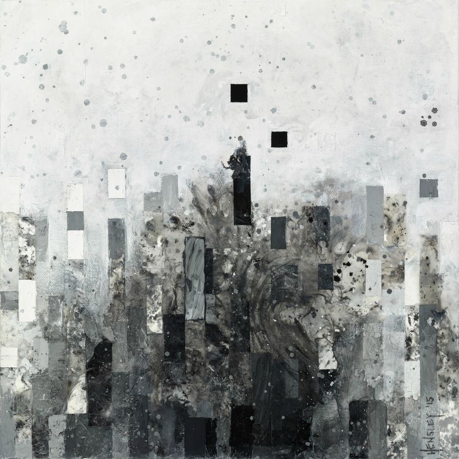 "PiqqitatSSB315, acrylic on canvas, 12"" x 12"", 2015"