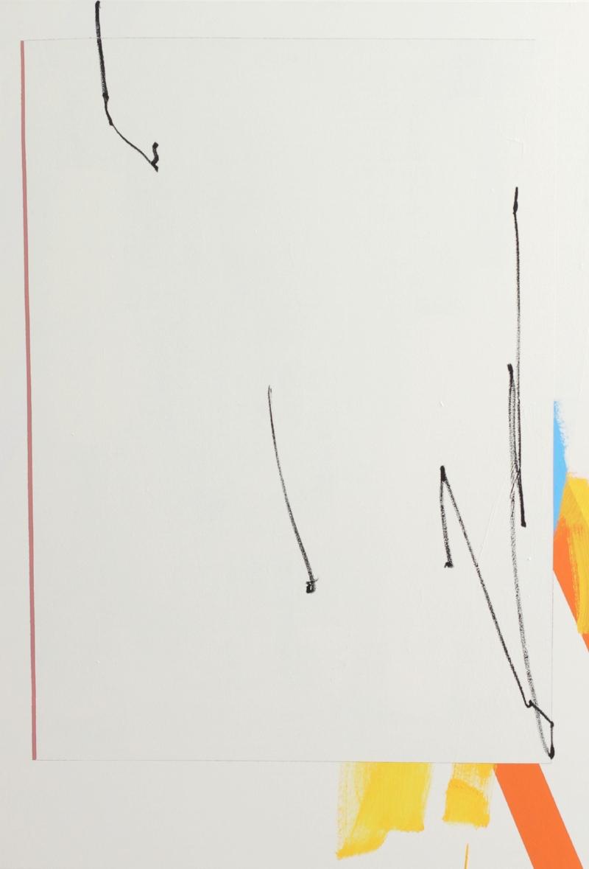 ED BATS - DOWN RIVER - Acrylique et enamel sur toile - 138 x 95 cm - 2018.jpg