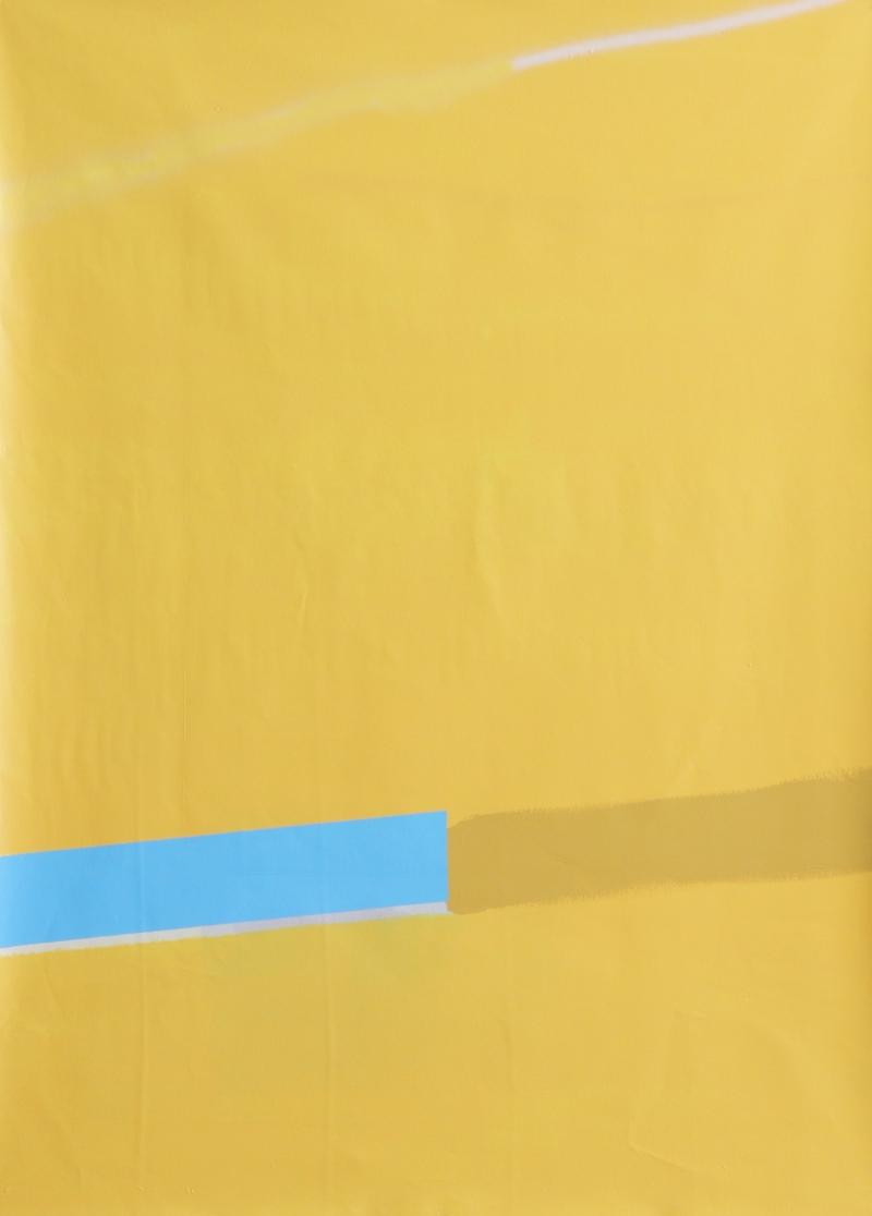ED BATS - UP RIVER - Acrylique, enamel et aérosol sur toile - 138 x 95 cm - 2018.jpg