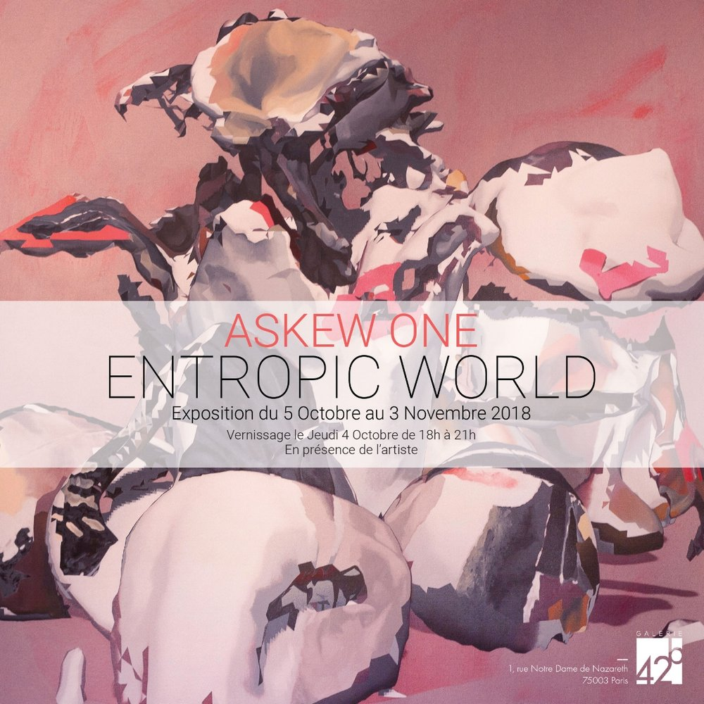 Invitation ASKEW ONE - ENTROPIC WORLD