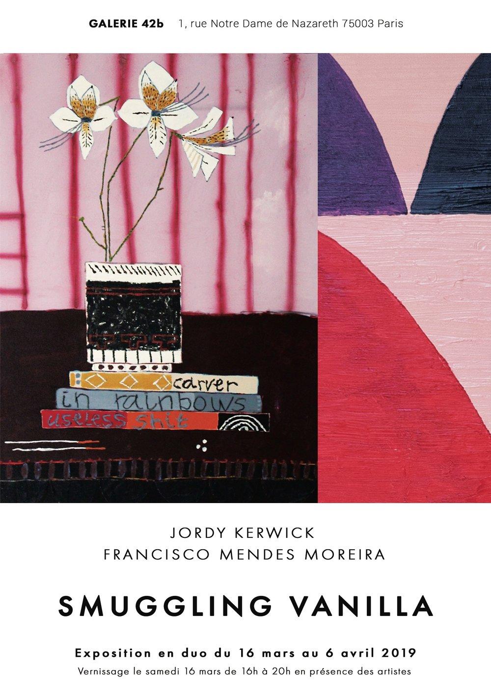 Invitation JORDY KERWICK & FRANCISCO MENDES MOREIRA - SMUGGLING VANILLA