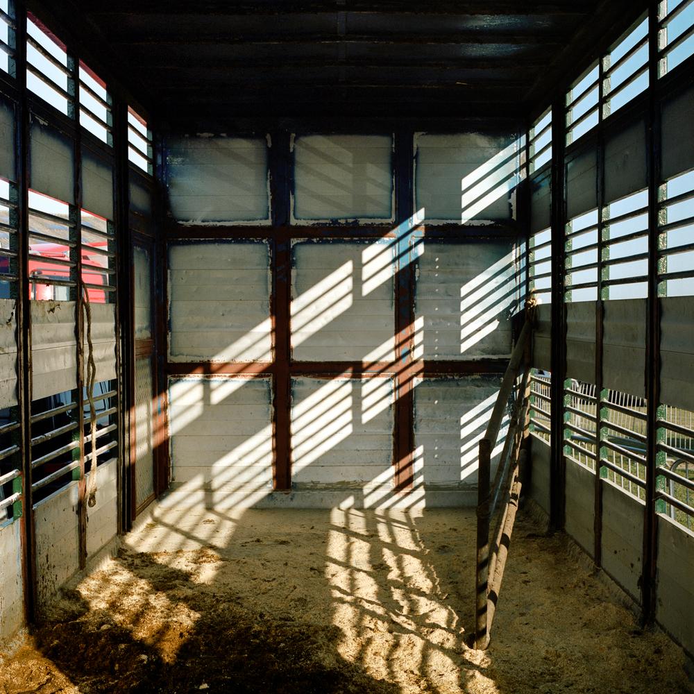 Interieur veewagen, Middenmeer