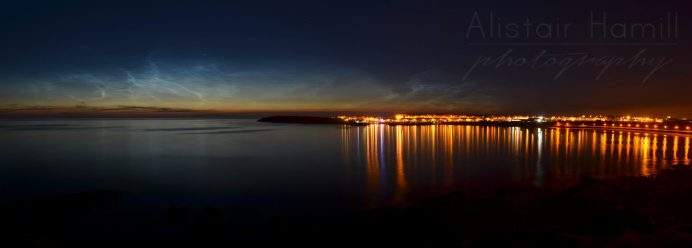 Portrush Noctiluent panorama 2