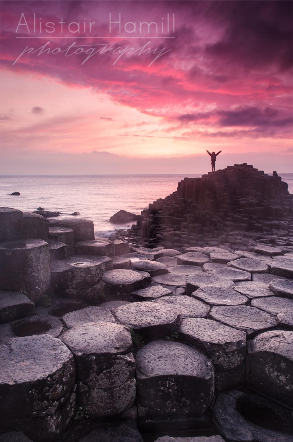 Giant's Causeway Sunset GC16