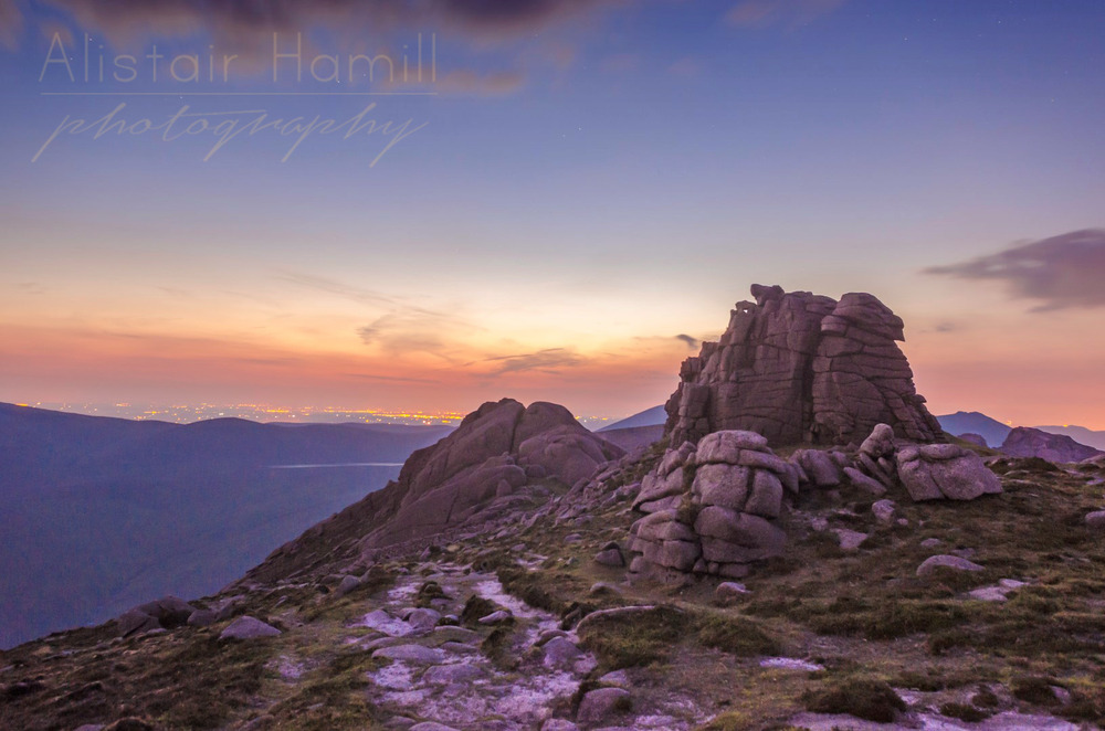 Twilight at Binnian's tors